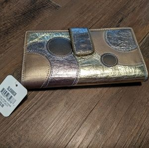 NWT Fossil Wallet Multicolored